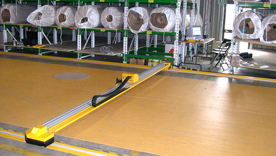 Floor Mounted Carpet Cutter