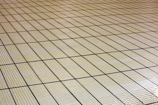 A sail panel produced by an Aeronaut Stringer