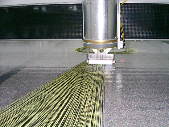 Carbon Fibre Gantry Stringer