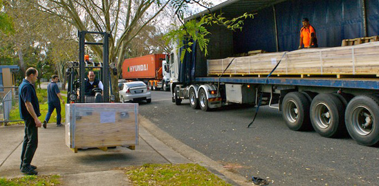 Another shipment of string sail machines from Aeronaut